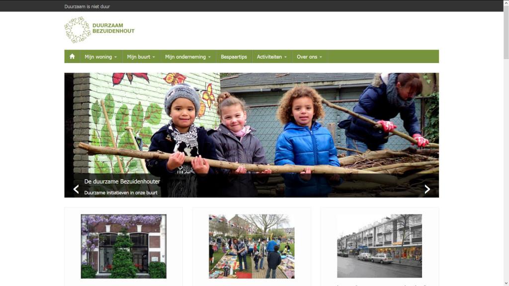 website bouwen voor duurzaam bezuidenhout