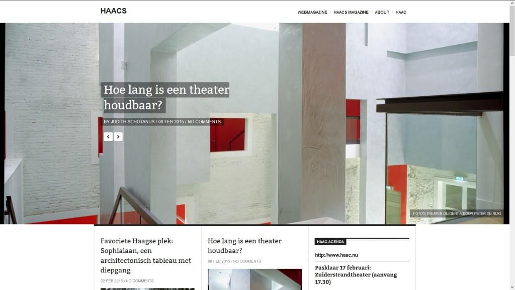 website bouwen voor HAACS