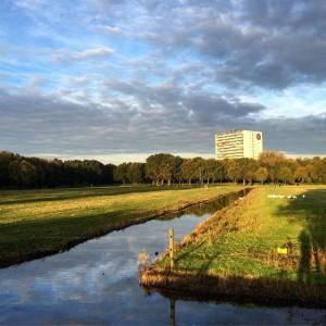 mountainbike route Uithof Den Haag